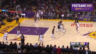 Postgame Report: LeBron and Kuz both score 29 in Lakers win over Sacramento