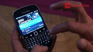 BlackBerry Bold 9900 - dmonstration vido