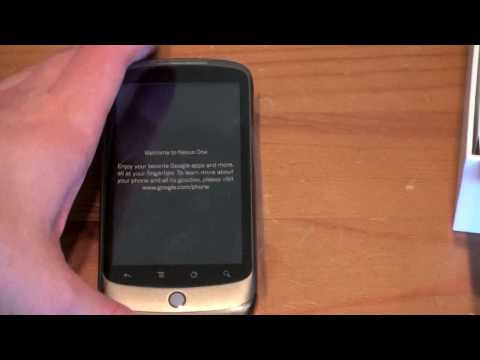 Nexus One Unboxing: The Google Phone