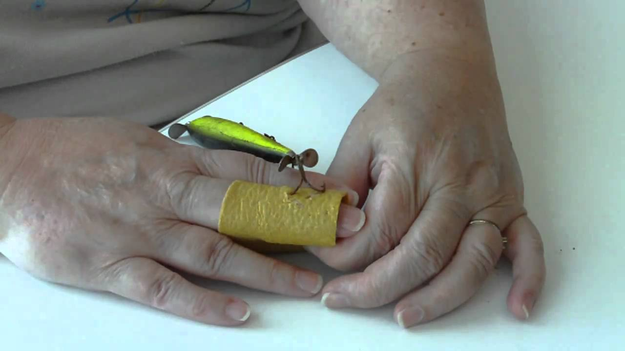 Embedded fish hook removal youtube for Removing fish hook