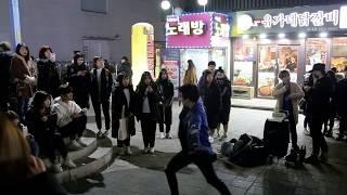 JHKTV]홍대댄스 디오비hong dae k-pop dance dob(ty hj) 으르렁 growl