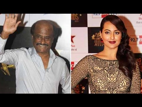 Rajini Sir is 40, Sonakshi celebrates