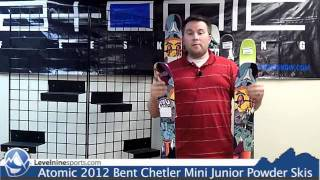 Atomic 2012 Bent Chetler Mini Junior Powder Skis