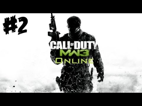Let's Play Call of Duty: MW3 Online #2