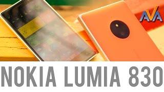 Смартфон Nokia Lumia 830 обзор от AVA.ua
