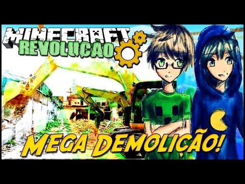 Minecraft: A REVOLUÇÃO - MEGA DEMOLIÇÃO! #26