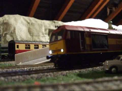 British OO Gauge Model Railway Layout Video