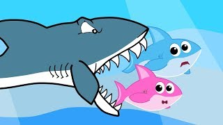 Baby Shark Get Scary Nursery Rhymes and Cartoon for Kids