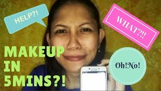 download lagu 5 Min. Makeup Challege Kakalurkei :d  Shoutout :d gratis