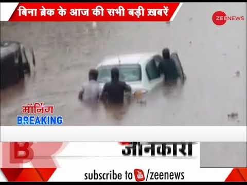 Morning Breaking: Incessant rain hits normal life in northern India