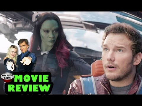 GUARDIANS OF THE GALAXY - Chris Pratt, Zoe Saldana - New Media Stew Movie Review