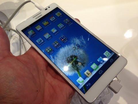 Huawei Ascend Mate primeras impresiones en español CES 2013
