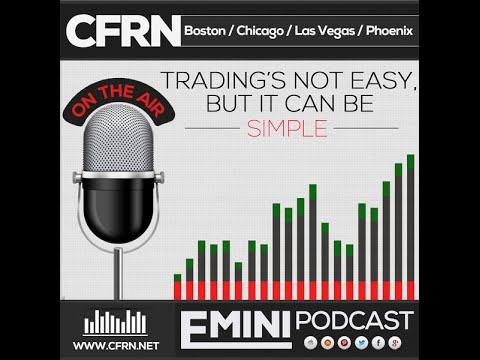 CFRN Emini Radio Broadcast  - Daily Live Stream / Futures Trading and Training