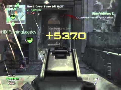 MW3: 5 Man UMP Spray :)