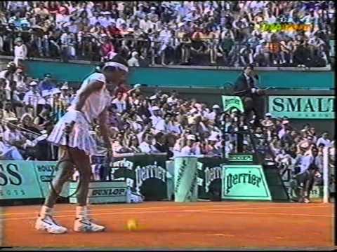 Gabriela Sabatini v Mary Joe Fernandez French Open 1993 pt1