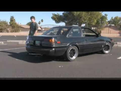 AE86 Toyota Corolla GT-S - YouTube
