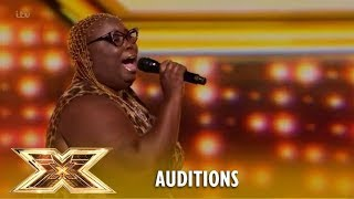 WOW! Burgandy Williams Pays A Tribute To Aretha Franklin! | The X Factor UK 2018
