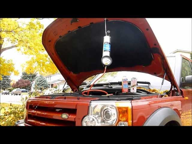 Discovery LR3 - Fuel Injector Clean - YouTube