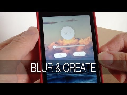 Blur iPhone App Review