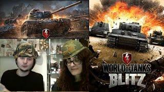 Bir Kadın Bir Tank   World of Tanks : Blitz   Mobil Oyun