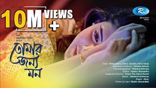 Tomar Jonno Mon - তোর জন্য মন  | Mehazabien | Jovan | Popular Bangla Natok 2017 | Rtv