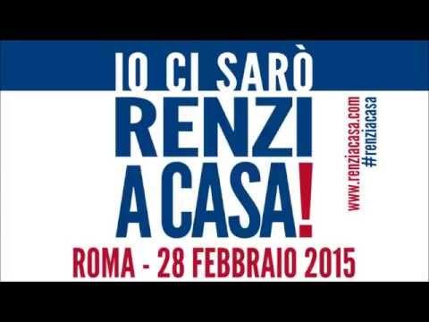 #RENZIACASA – Roma, sab 28 febbraio ore 15, piazza del Popolo: IO CI SARÒ