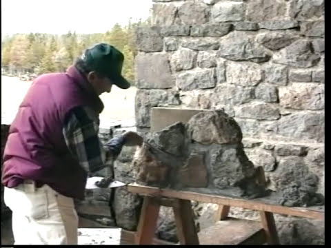USFS - This Old Cabin Masonry - 1996