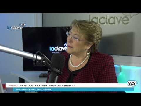 Entrevista Michelle Bachelet #PoliticamenteHumanas (Parte 1/2)