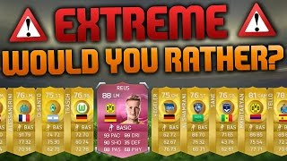EXTREME 100K PACK WOULD YOU RATHER!!! SO MANY PINKS!!! OH WAIT... Fifa 15 Discard Pack Challenge