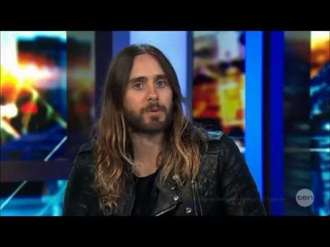 Jared Leto 'It's All Good' LIVE Australian Tv Interview FULL 27-3-2014