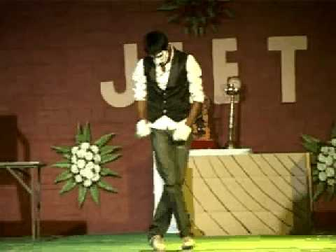 Pankul Lakhmera Mba 3rd Sem Jiet Jodhpur Solo Dance On sau Dard Hai video