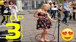 Watch Barefoot Street Performer Sammie Jay Shocks Audience