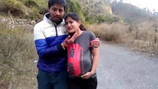 Child delivery in road funny women