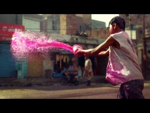 Holi, India's EPIC Color Festival - Vrindivan, India