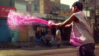 Holi, India's EPIC Color Festival - Vrindivan, India
