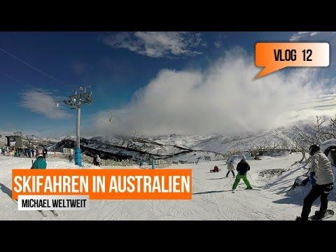 Skifahren in Australien - Perisher! Vlog 12 ! Michael Weltweit