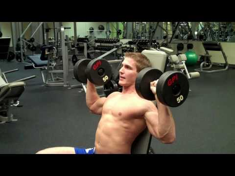 How To: Dumbbell Shoulder Press Image 1