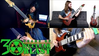 RINGS OF SATURN - Parallel Shift (Guitar playthrough)