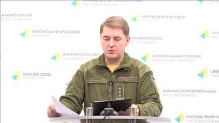Col. Oleksandr Motuzyanyk, Ministry of Defense of Ukraine spokesperson. UCMC 24.12.2017