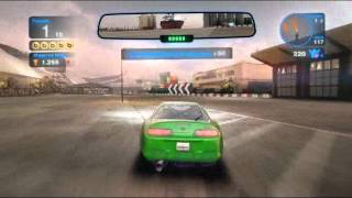 GAMEPLAY: Blur NVIDIA GeForce GT 520M  Samsung RC420