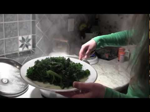 HOW TO MAKE KALE -- Lose Weight with this High Fiber, Healthy, Nutritious Diet Food