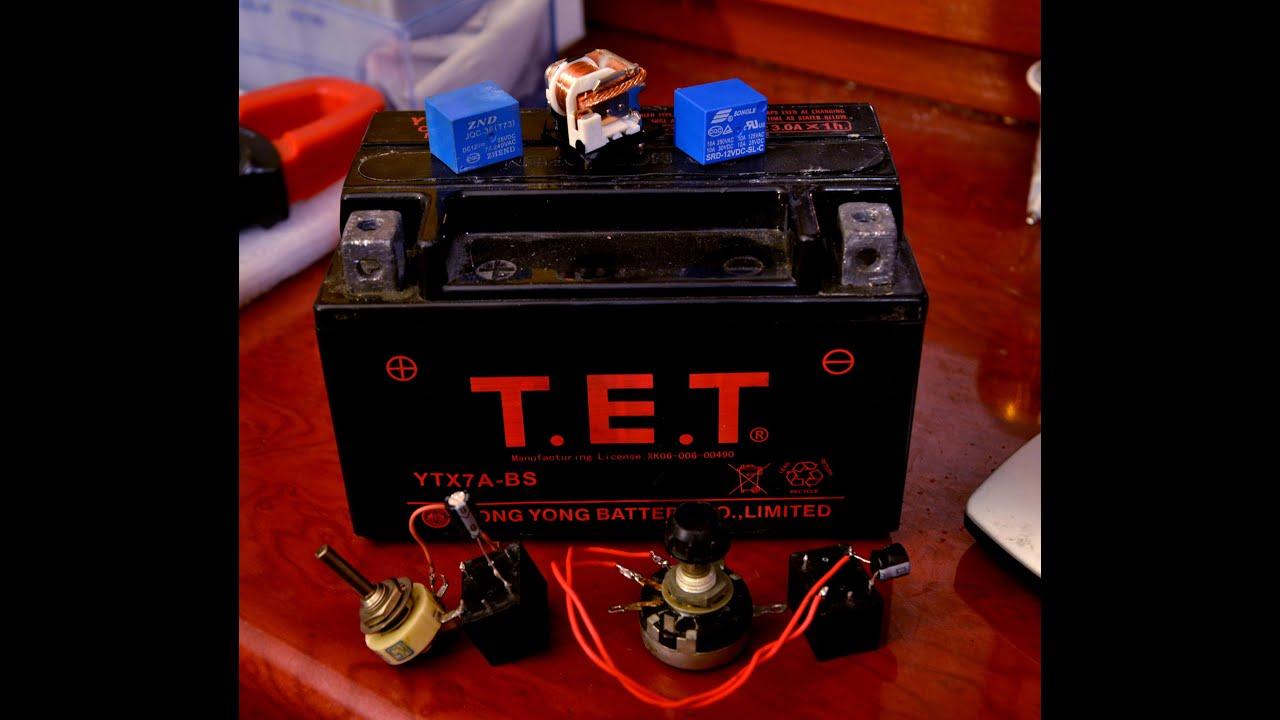 Ремонт аккумуляторааппарата