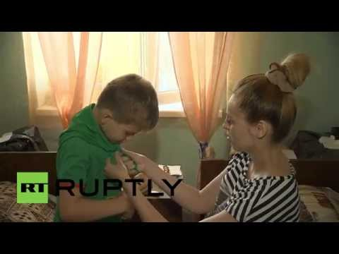 Russia: Thousands of refugees flee from Ukraine to summer camps