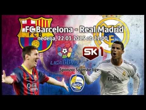 FC Barcelona vs Real Madrid ☆ Elclasico 2015 by DERBY® banana | PROMO