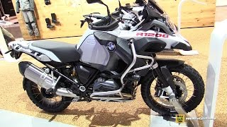 2016 BMW R1200GS Adventure - Walkaround - 2015 EICMA Milan