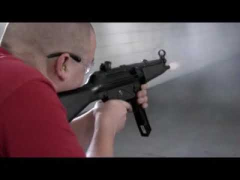 Impact Guns Staff Machine Gun Shoot