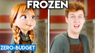 FROZEN WITH ZERO BUDGET! (Do You Want To Build A Snowman PARODY)