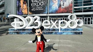 Lets Explore D23 Expo! The Ultimate Disney Fan Event Announcement, Characters More!
