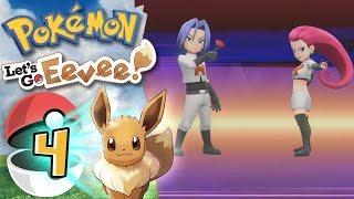 TEAM ROCKET IN AZIONE! Jessie e James. - Pokemon Let's Go Eevee Pikachu ITA - [Episodio 4 Gameplay ]
