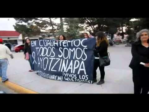 MARCHA DE LA LUZ POR AYOTZINAPA EN CUAUHTEMOC CHIH